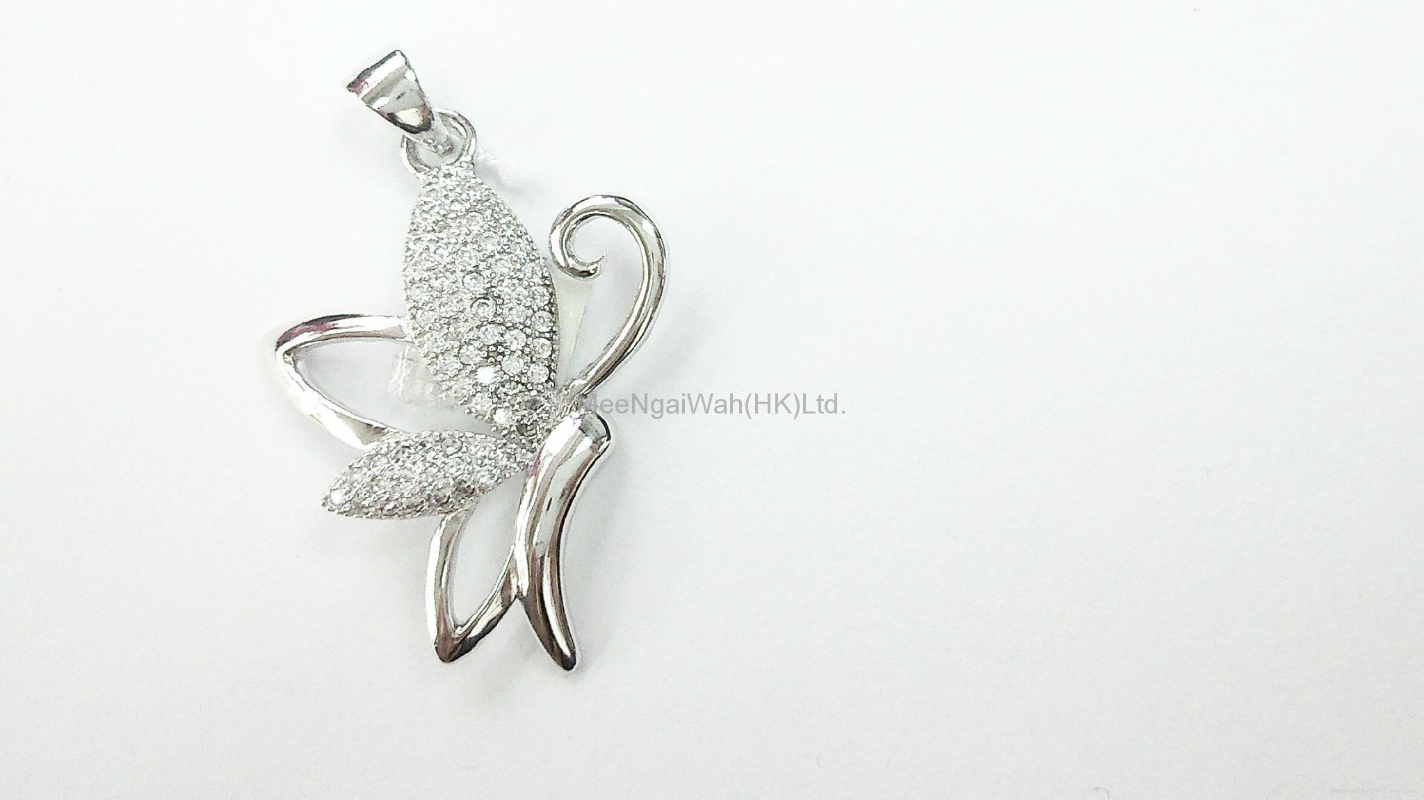 女装纯银饰品 [蝴蝶/ 十字架] 6