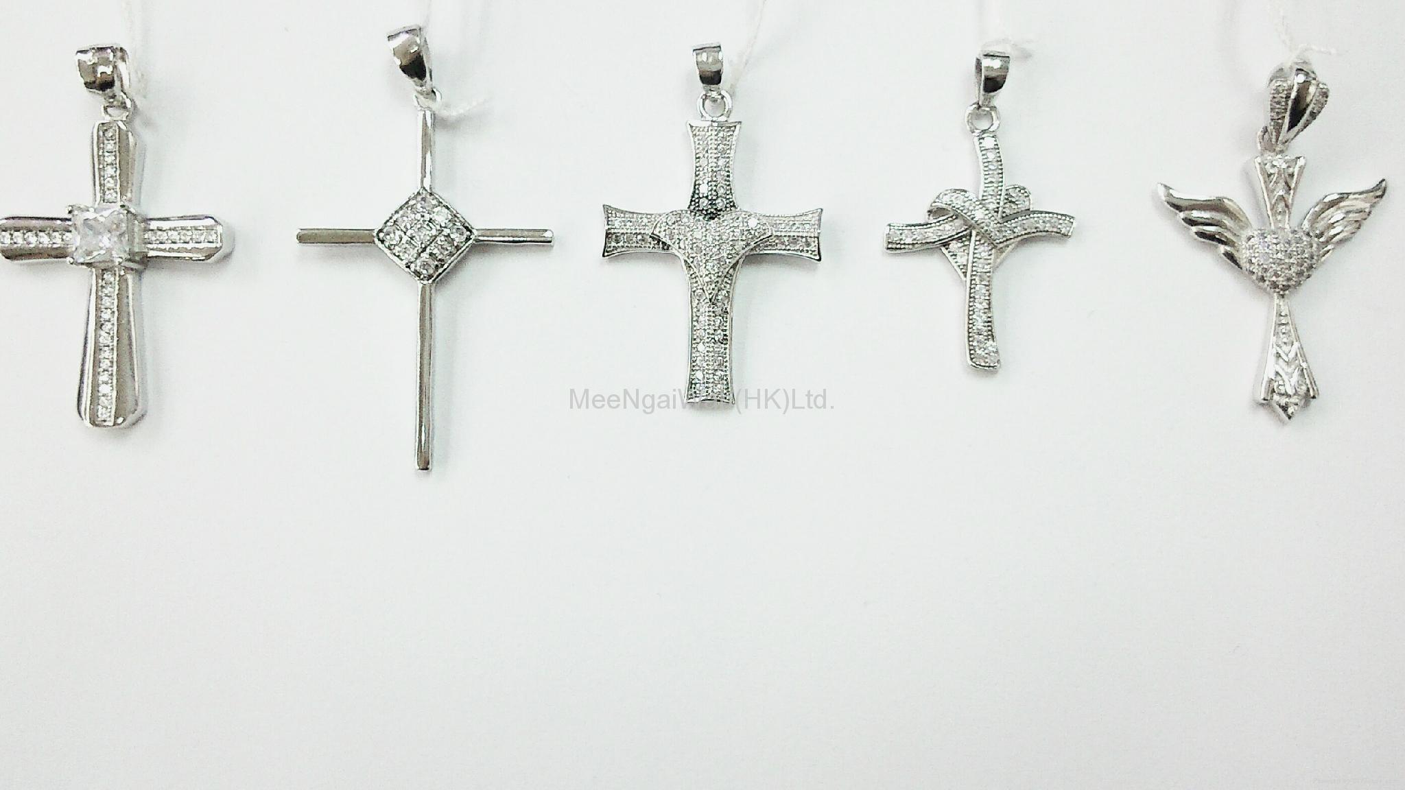 女装纯银饰品 [蝴蝶/ 十字架] 9