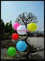 fabric solar lantern garden lantern