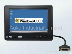 7 Inch Embedded All in One PC With OS Wince 6.0/Linux 2.6.32