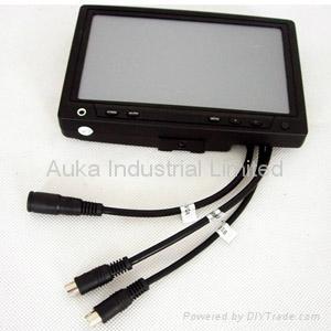 7 inch Car VGA Touchscreen Monitor 1
