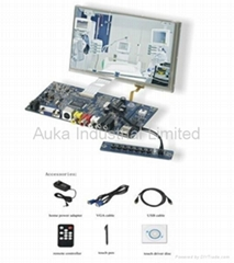 """7"""" TFT LCD Touch Screen SKD Module Kit for Industrial Control Application"""