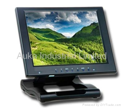 "10""  High Resolution Touchscreen VGA Monitor for Kiosk Industiy Application 1"