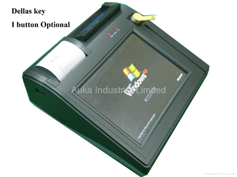 "10.1"" All in One POS Terminal with Touch Screen, Thermal Printer 2"