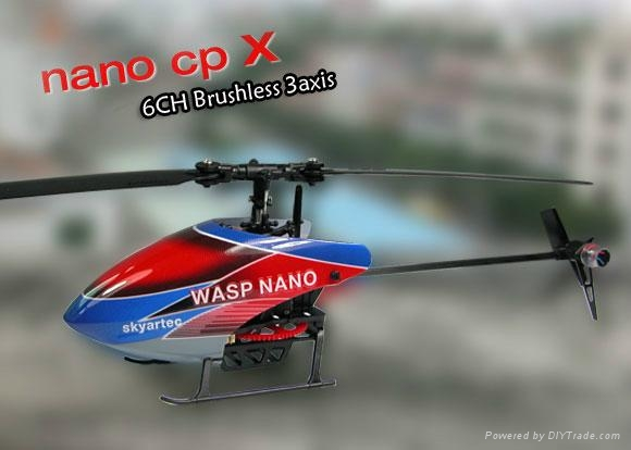 WASP NANO CPX 3D LCD 2.4GHz Brushless RTF (Color box version)  1