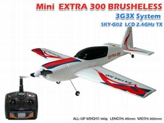 Model airplane Mini Extra300 and parts from SKYARTEC RC