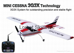 MODEL airplane Mini Cessna 2.4GHz Brushless 3G3X and parts from SKYARTEC RC