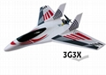 MODEL airplane MINI SKYFUN RTF Basic with 3G3X and parts from SKYARTEC RC 4
