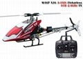 MODEL helicopter WASP X3S 3AXIS