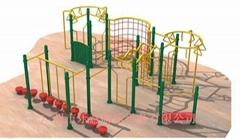 幼儿園攀岩架