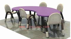 kindergarten table and chair