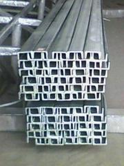 幕墙专用热镀锌槽钢