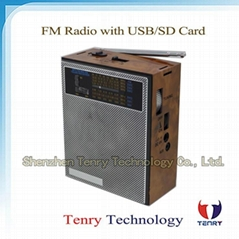 FM/MW/Sw Radio with MP3 Portable Radio Digital Radio FM Radio