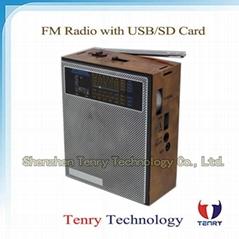 FM/MW/Sw Radio with MP3 Portable Radio Digital Radio FM Radio