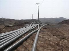 煤礦井下聚乙烯耐磨管道