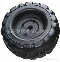 中空成型制品玩具车塑胶轮胎