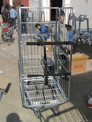 Galvanized square tubes Trolley