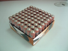 Extra Heavy Duty AA Size R6P Metal-Jacket Batteries: in 64pcs Value Pack
