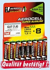 OEM Compatible Super Alkaline Batteries AA Size (MN1500)