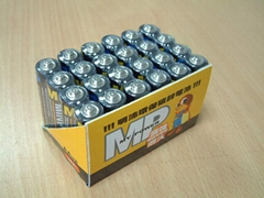 Extra Super Heavy Duty R6P Metal-Jacket Batteries (AA size)