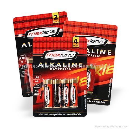 Ultra Power Alkaline Batterien 1,5V Typ AA / LR06, Mignon