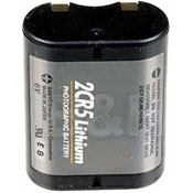 High Tech Lithium Photographic Battery 2CR5(6V)