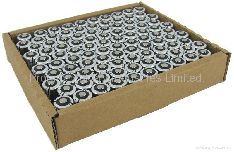 Photo Lithium Battery CR123A, DL123A