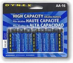 Maximum Power Alkaline Cells: AA/AAA/C/D/9 Volts