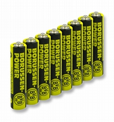 Extra Long Life AAA Batteries with your private label