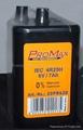 PJ996 4R25 6V Lantern Batteries, Weatherproof 1