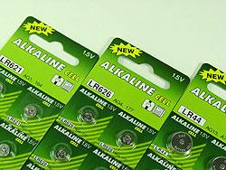 LR44 / AG13 /A76 Alkaline Button Cell Batteries 1