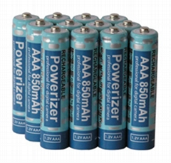 AAA 1000mAh Ni-MH Rechargeable Batteries