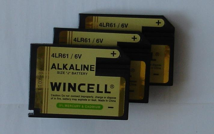 4LR61 Alkaline Battery
