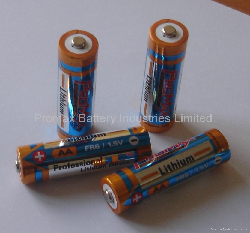 Lithium Iron AA Battery 1.5V, Ultimate Lithium L91/FR6