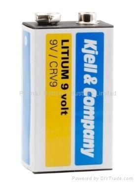 Lithium 9V Batteries for Smoke Detector 1