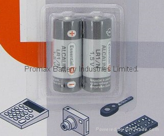 N Size LR1 (AM5) Alkaline Battery, Lady (MN9100)