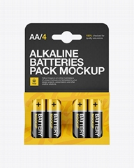 No Leakage Long-Lasting Batteries, [Ultra Power] Premium Alkaline Batteries