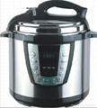 Stainless Steel Body Electric Rice Cooker 4liter 800watt. 5liter 900watt.6liter  1