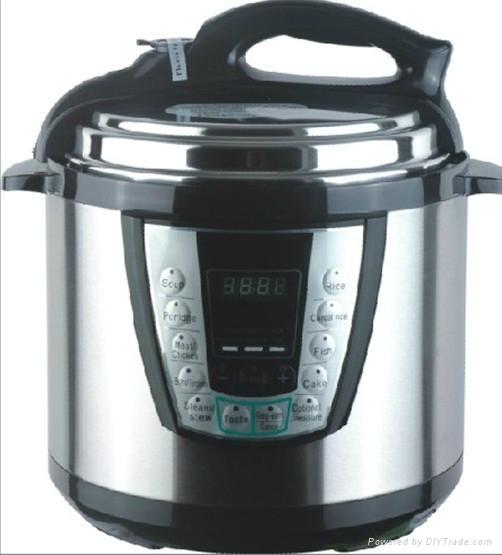 Stainless Steel Body Electric Rice Cooker 4liter 800watt. 5liter 900watt.6liter  2