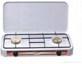 2 Burner Coating Body Kitchen Appliance
