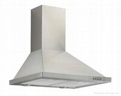60CM Stainless  Steel Kitchen Appliance 3 Speed Steel Range Hood