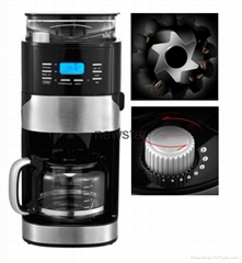 Grinder And Brew Coffee Maker