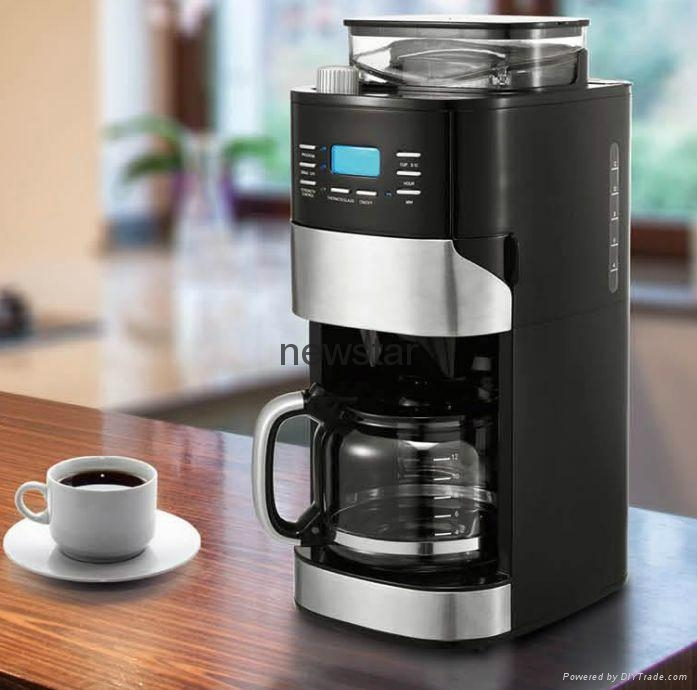 Grinder And Brew Coffee Maker 5