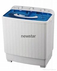Twin tub wash machine