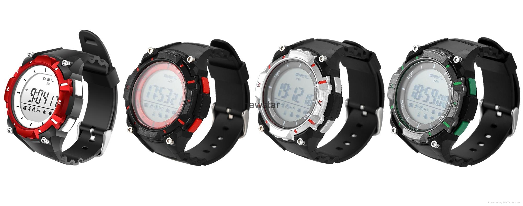 Bluetooth 30m water proof sport watch  4