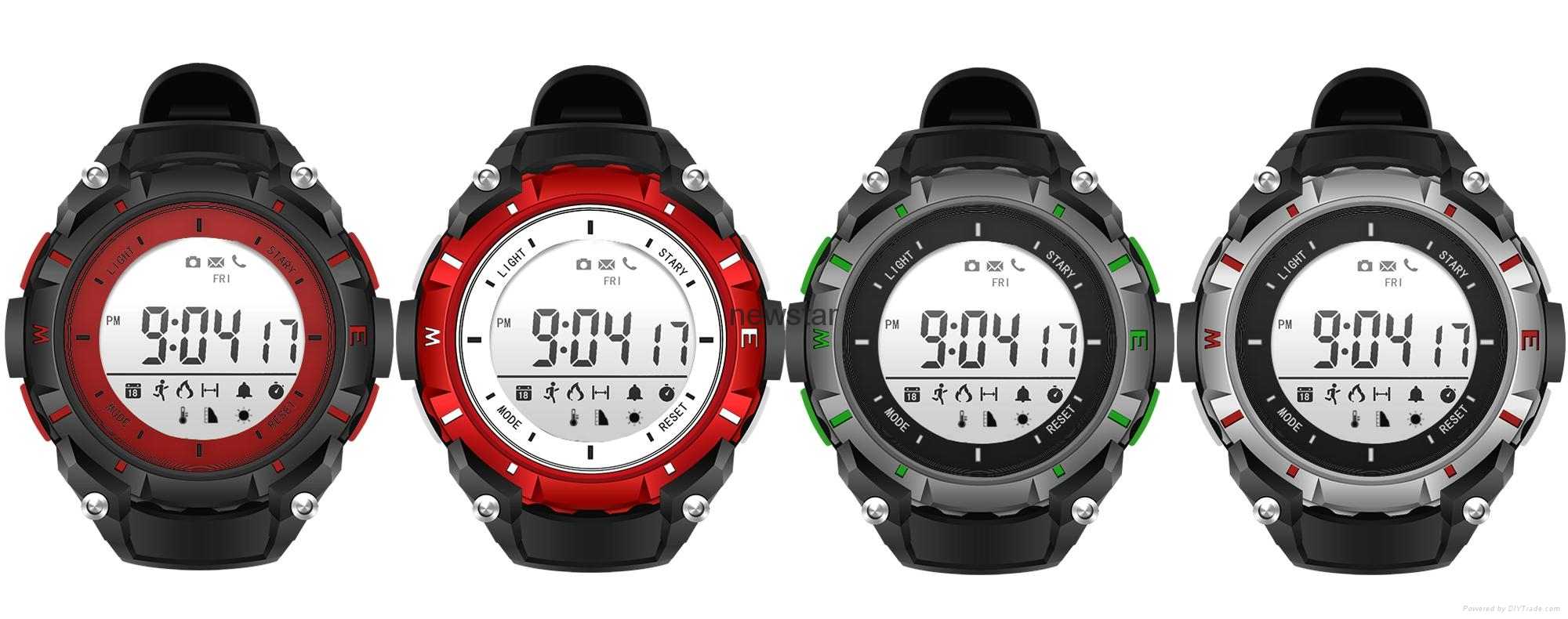 Bluetooth 30m water proof sport watch  5