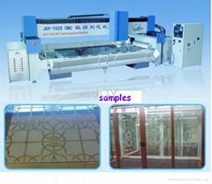 CNC GLASS ENGRAVING AND POLISHING MACHINE
