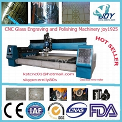 CNC GLASS ENGRAVING MACHINE