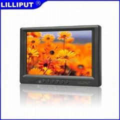 利利普 7寸觸摸顯示器 帶HDMI、DVI、VGA和AV輸入