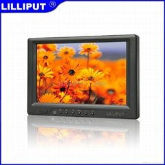 "lilliput 7"" touch screen Monitor with HDMI&DVI&VGA&AV Input"